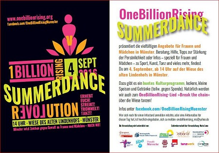 One billion rising Summerdance 2016